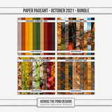 Paper Pageant - October 2021 - Bundle