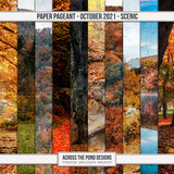 Paper Pageant - October - Scenic