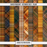 Paper Pageant - October - Plaid