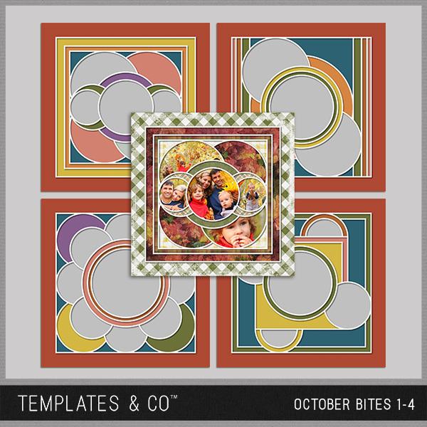 October Bites Digital Art - Digital Scrapbooking Kits