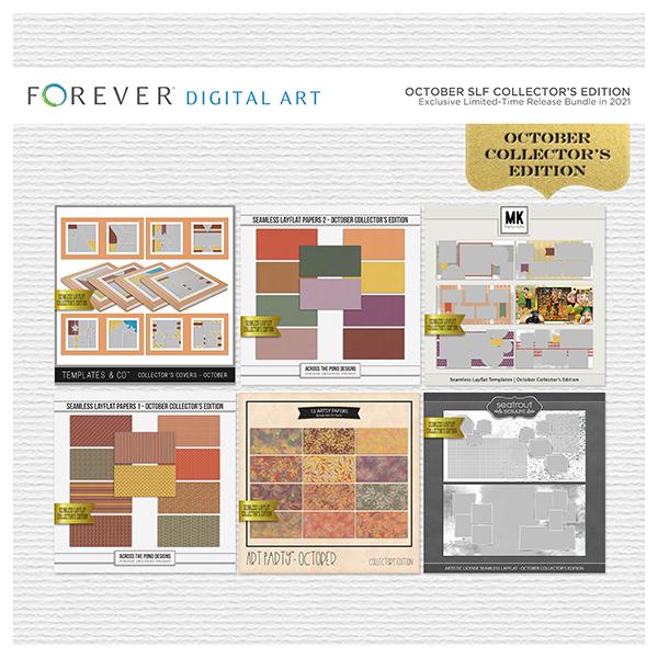 October SLF Collector's Edition Digital Art - Digital Scrapbooking Kits