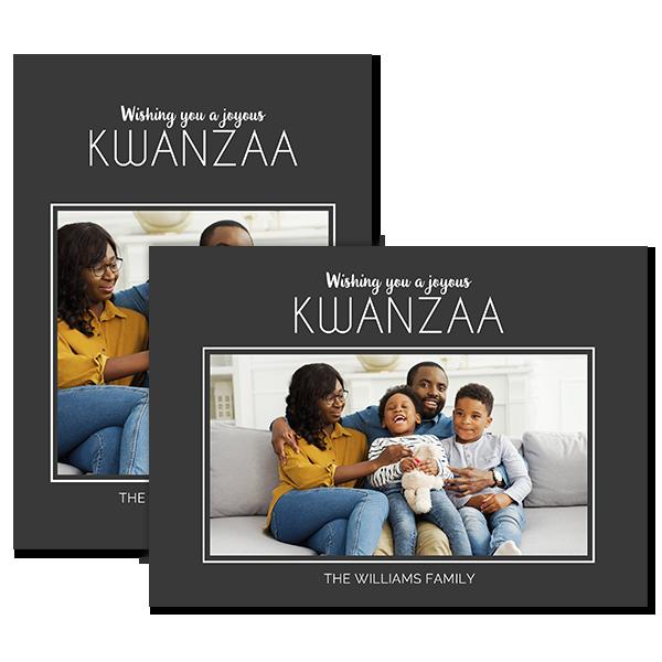 Joyous Kwanzaa Card Card