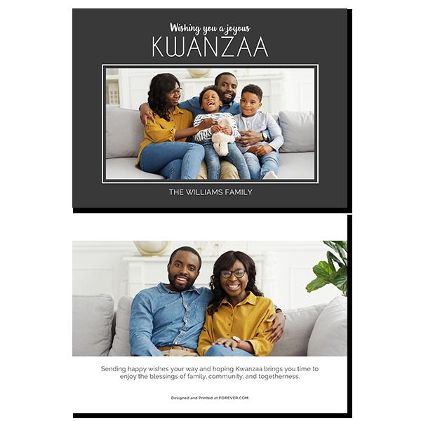 Joyous Kwanzaa Card