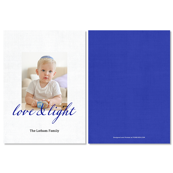 Simple Love and Light Card