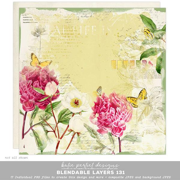 Blendable Layers 131 Digital Art - Digital Scrapbooking Kits
