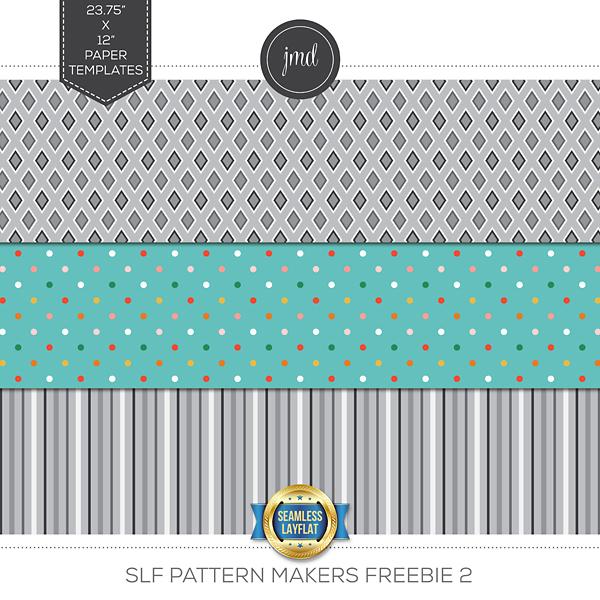 SLF Pattern Makers Freebie 2 Digital Art - Digital Scrapbooking Kits