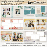 Simply Storyboards 4 - 12x12 Pre-designed Book
