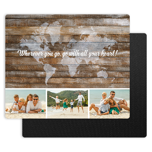 Wherever You Go Mouse Pad Mouse Pad