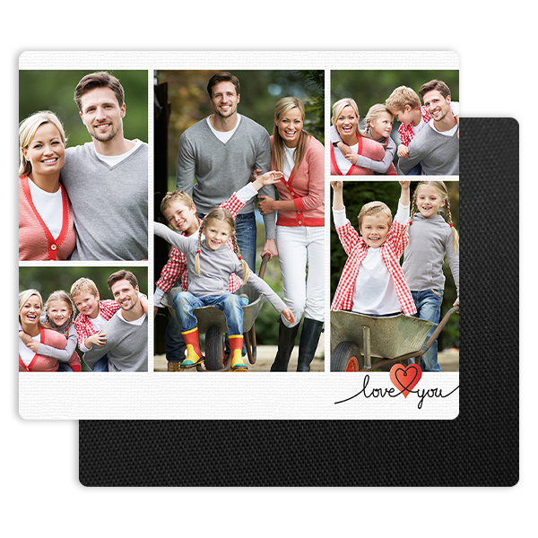 Love You Mouse Pad Mouse Pad