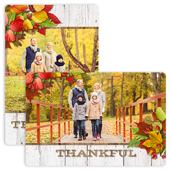 Simply Thankful Magnet Magnet