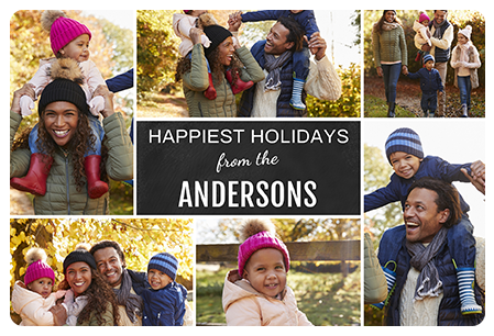 Happiest Holidays Magnet Magnet
