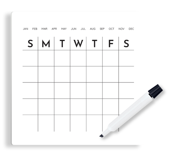 Modern Calendar Panel