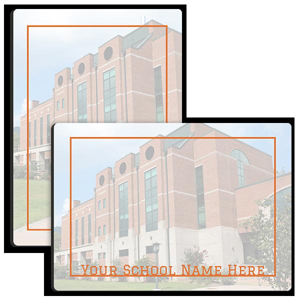 Varsity Orange Memo Tabletop Tabletop Panel