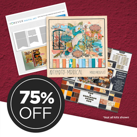 "Save 75% on our ""Today, Tomorrow, Forever"" Digital Art Bundle!"