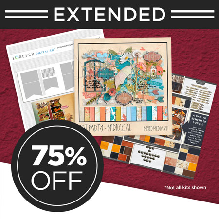 """Save 75% on our """"Today, Tomorrow, Forever"""" Digital Art Bundle!"""