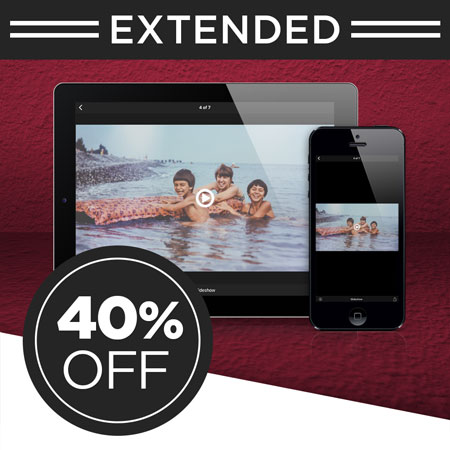 Save 40% on a FOREVER Permanent Premium (Streaming) Video single payment!