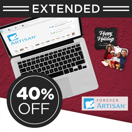 Save 40% on FOREVER Artisan® software and upgrades!