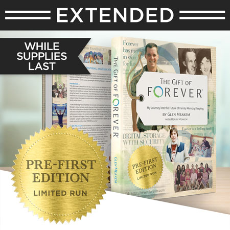 """Secure your signed copy of """"The Gift of FOREVER"""" by Glen Meakem!"""