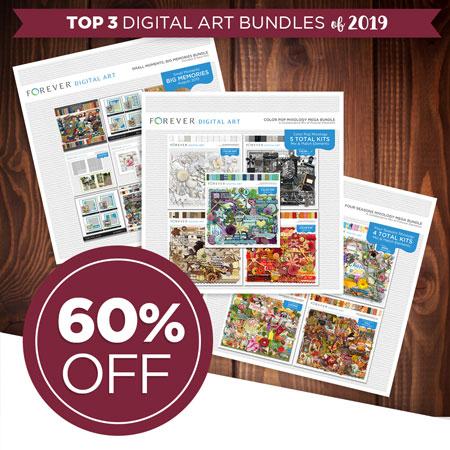 Take 60% off our best-selling digital art bundles of 2019!