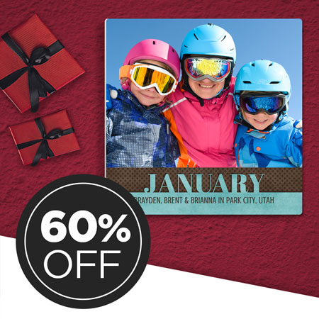 60% OFF January Wall Panel! Collect them all each month!