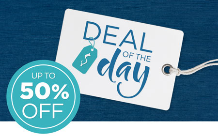 Save 50% on the Deal of the Day!