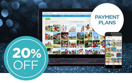 Save 20% on ALL FOREVER Storage® payment plans!