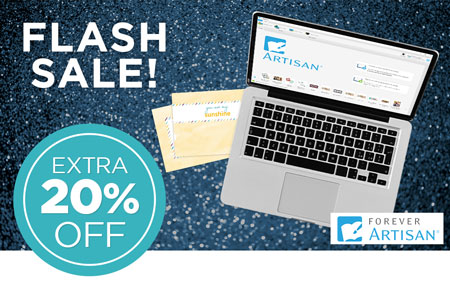 Save an EXTRA 20% on FOREVER Artisan software & upgrades!