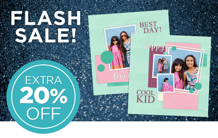 Save an EXTRA 20% on page prints!