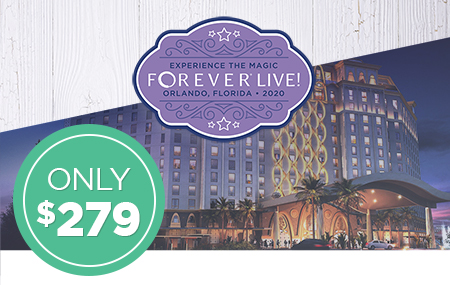 Get your FOREVER Live 2020 Convention ticket for just $279!