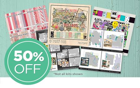 Save 50% on Creative Collective February 2020 digital art kit!