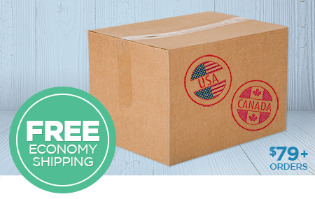 Free US/CAN Economy Shipping on Print Shop orders over $79!