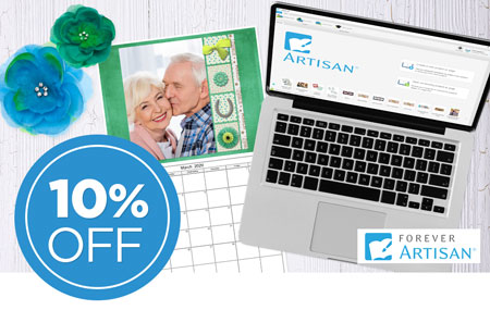 Save 10% on FOREVER Artisan software and upgrades!