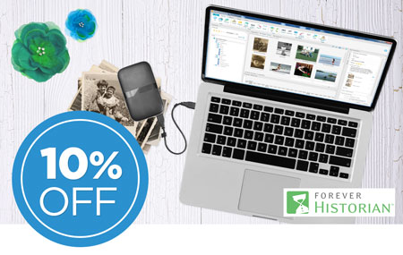 Save 10% on FOREVER Historian software!