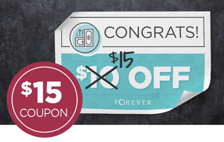 EXTENDED: Get $15 off every time you refer a friend to FOREVER!