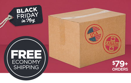 Free US/CAN Economy Shipping on Print Shop orders over $79 USD!