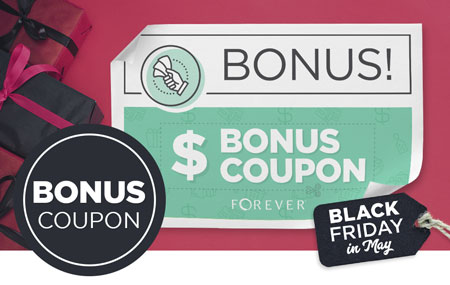 Back by Popular Demand: $100 and $200 gift certificate purchase includes a Bonus Coupon!