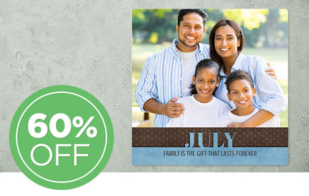 60% OFF July Wall Panel! Collect them all each month!