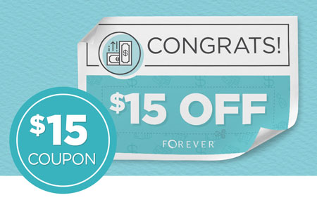 Get $15 off every time you invite a friend to join FOREVER!
