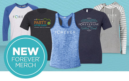 Get your FOREVER Merchandise today!