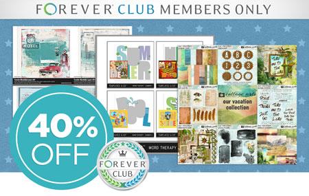 "Club Members: Save 40% on select ""Club Favorite"" digital art kits from each brand!"