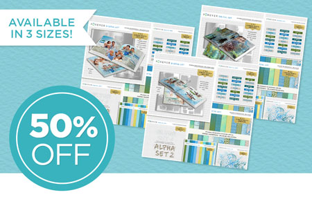 Save 50% on our July Collector's Edition Kits - available in 3 sizes or one mega bundle!