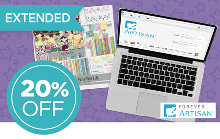 Save 20% on FOREVER Artisan® 5 software and upgrades!