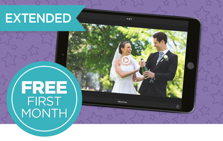 Enjoy your memories with FREE first month of Monthly Streaming Video Plan!