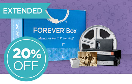 Save 20% on our NEW FOREVER® Box - available in 3 sizes!