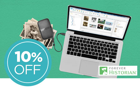 Save 10% on FOREVER Historian™ software!