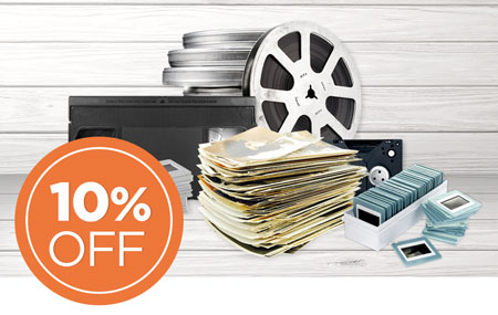 Have an outstanding FOREVER Box? Return it now to save 10% on all item digitization!