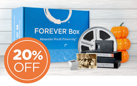 Save 20% on a FOREVER® Box - available in 3 sizes! Give the perfect gift this year.