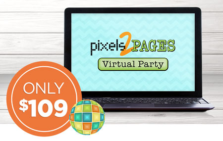 Get your p2P LIVE! Virtual Party ticket for just $109!