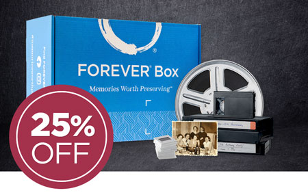 Save 25% on a FOREVER® Box - available in 3 sizes! Give the perfect gift this year.