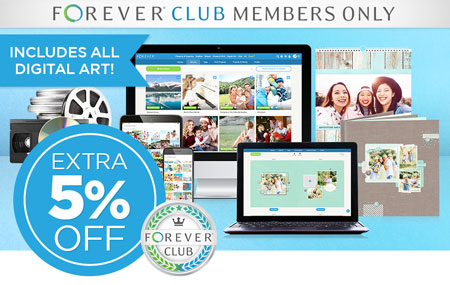 Save an EXTRA 5% on almost EVERYTHING when you join FOREVER Club!